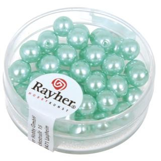 Rayher Renaissance Glasparels 6 mm turquoise