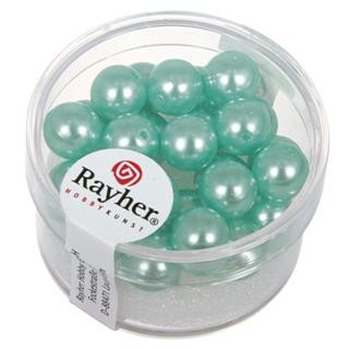 Rayher Renaissance Glasparels 8 mm turquoise