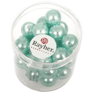 Rayher Renaissance Glasparels 10 mm turquoise