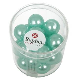 Rayher Renaissance Glasparels 12 mm turquoise