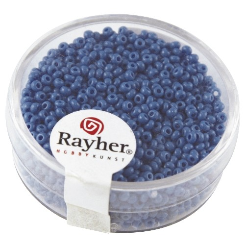 Rayher Rocailles Opaak 2 mm turquoise