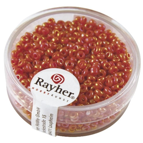 Rayher Rocailles Opaak 2 mm oranje