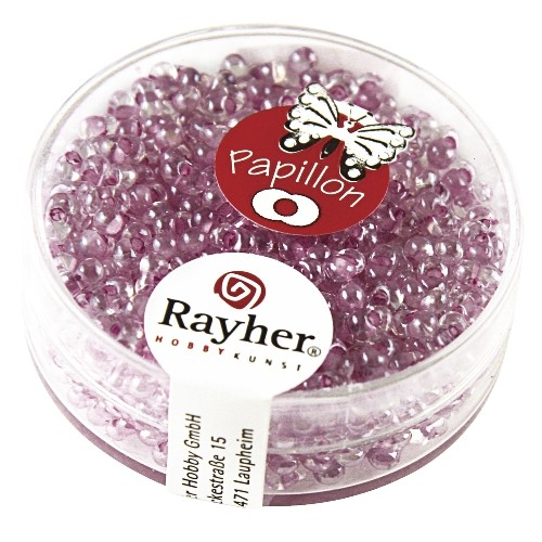 Rayher Papillon-Rocailles 2x4 mm sering