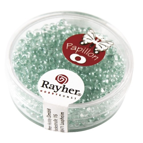 Rayher Papillon-Rocailles 2x4 mm mint