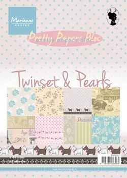 MD Pretty Papers bloc A5 Twinset & Pearls