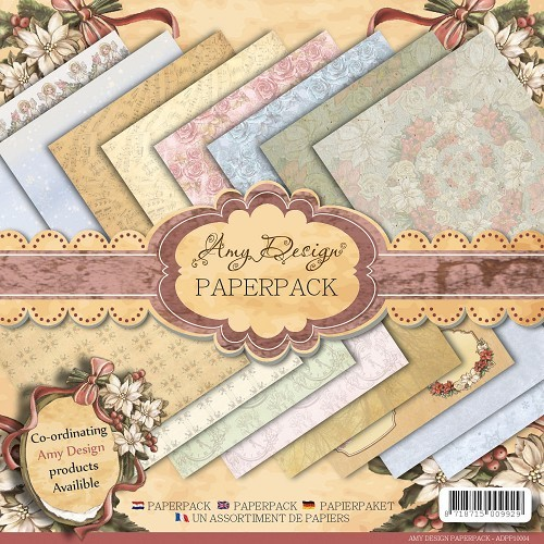 Amy Design - Paperpack - Vintage Christmas Collection
