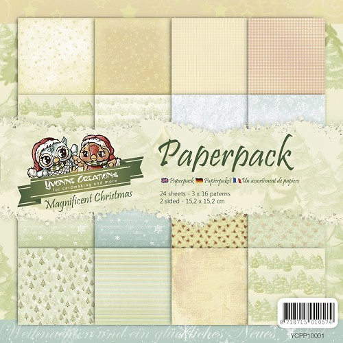 Yvonne Creations paperpack Magnificent Christmas