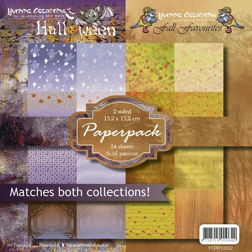 Yvonne Creations Paperpack Halloween & Fall Favourites