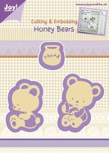 Joy Cutting & Embossing Stencil honey bears