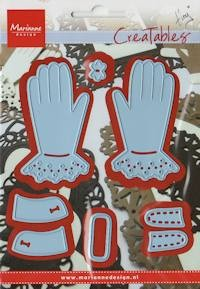 MD Creatables stencil Tiny`s gloves
