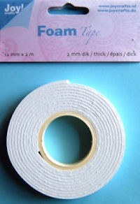 Joy! Foam tape 2 mm dik - 12 mm x 2 mtr