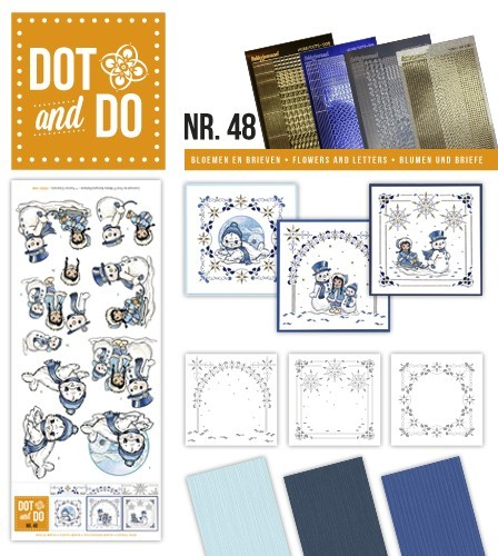 Dot & Do 48 Playful winter