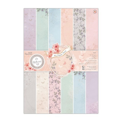 Docrafts Papermania Paper Pack A4 Bellisima