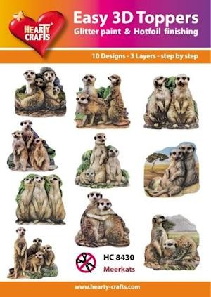Easy 3D Toppers Meerkats
