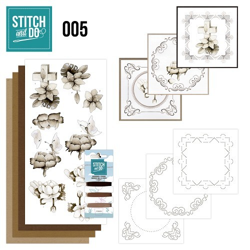 Borduurpakketje Stitch & Do 5 - Condoleance