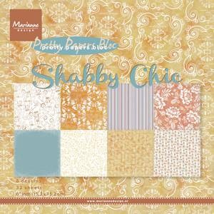MD Pretty Papers bloc 15 x 15 cm Shabby chic