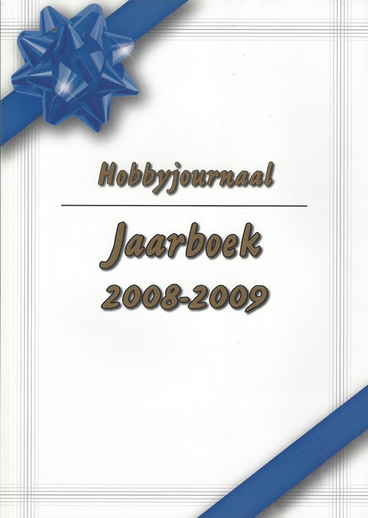 Hobby journaal Jaarboek 2008-2009