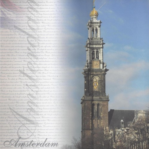 Paperpack 24 vel 30,5x30,5cm Amsterdam