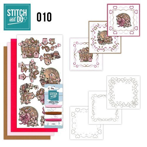 Borduurpakketje Stitch & Do 10 - Moederdag