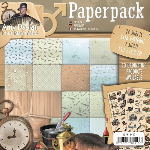 Paperpack - Amy Design -Its a Mans World