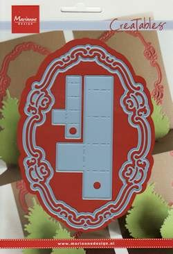 MD Creatables stencil oval & pop-up