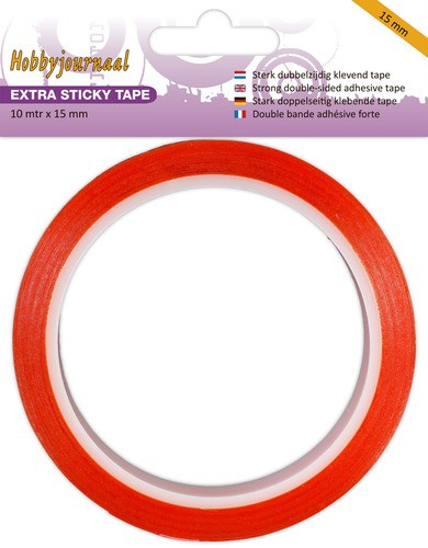 Hobbyjournaal/JEJE Extra Sticky Tape 15 mm