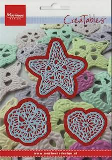 MD Creatables stencil crochet