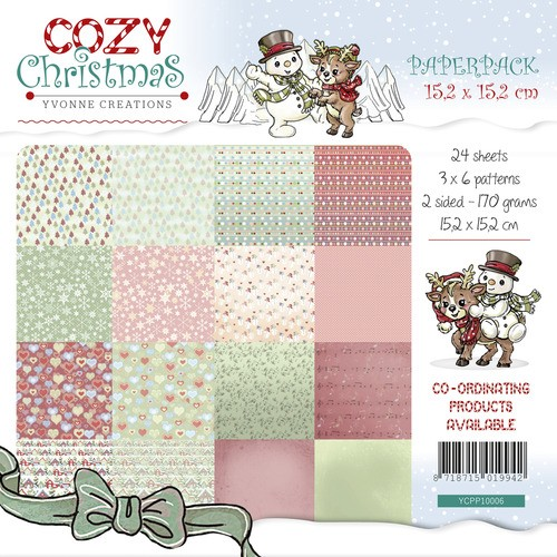 Paperpack - Yvonne Creations - Cozy Christmas