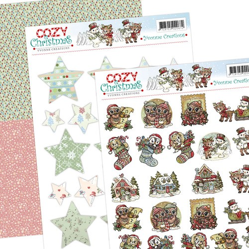 Yvonne Creations - Cozy Christmas - Minis & Labels