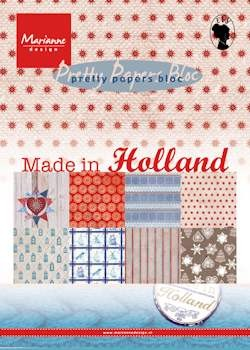 MD Pretty Papers bloc A5 Made in Holland
