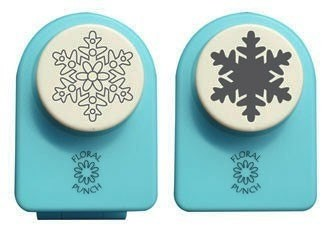 Nellie`s Floral punch medium set Snowflake
