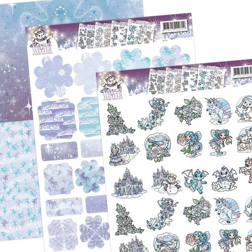 Yvonne Creations -  Magical winter Minis & Labels