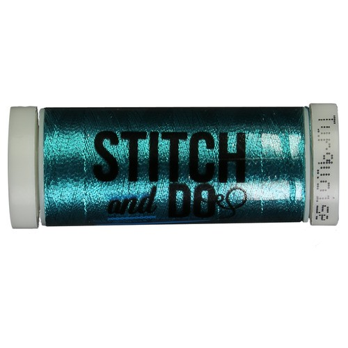 Garen Stitch and Do 200m Metallic Turquoise