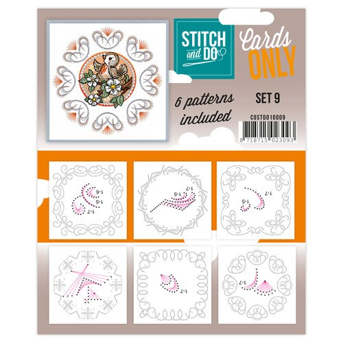Stitch & Do - Cards only - set 09