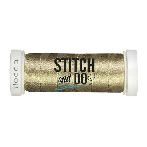 Stitch & Do garen 200 m Kraft Mokka