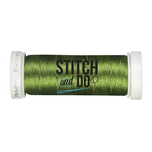 Stitch & Do garen 200 m Mosgroen