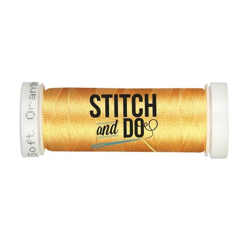 Stitch & Do garen 200 m Zacht oranje