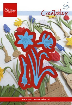 MD Creatables stencil Tiny`s narcissus