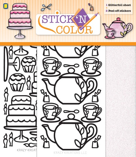 Stick n Color - High tea