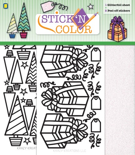 Stick n Color - Christmas