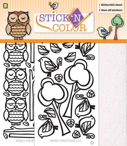 Stick n Color - Owl