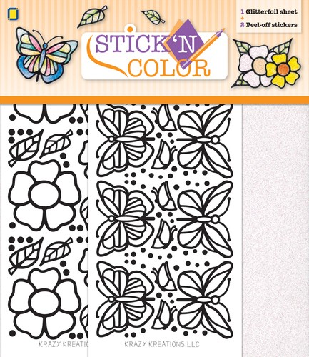 Stick n Color - Butterfly
