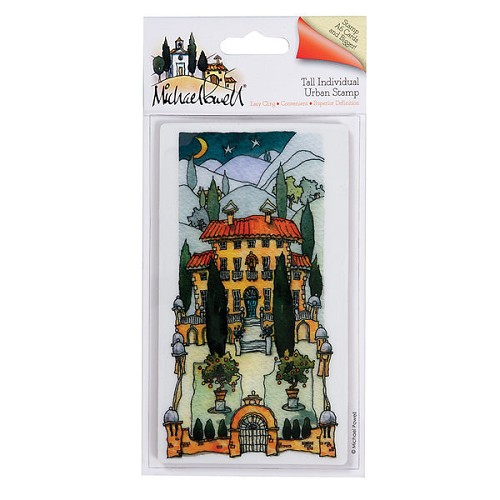 Docrafts Rubber stamp Urban Midnight Garden