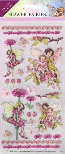 Rub-On Transfers Flower Fairies