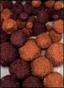 PomPom set 50 stuks Brown mix