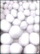 PomPom set 50 stuks White mix