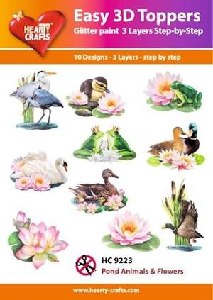 Easy 3D Toppers Animals & Flowers