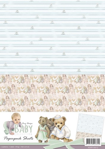 Amy Design background A4 Baby