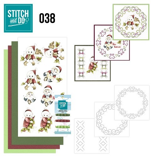 Borduurpakketje Stitch and Do 38 - Christmas Children