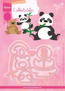 MD Collectables set Eline`s panda & bear